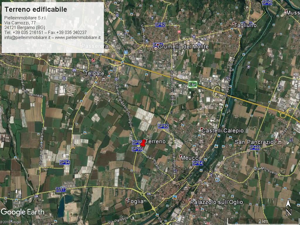 Terreno industriale vicinanze arterie forte passaggio e caselli autostradali