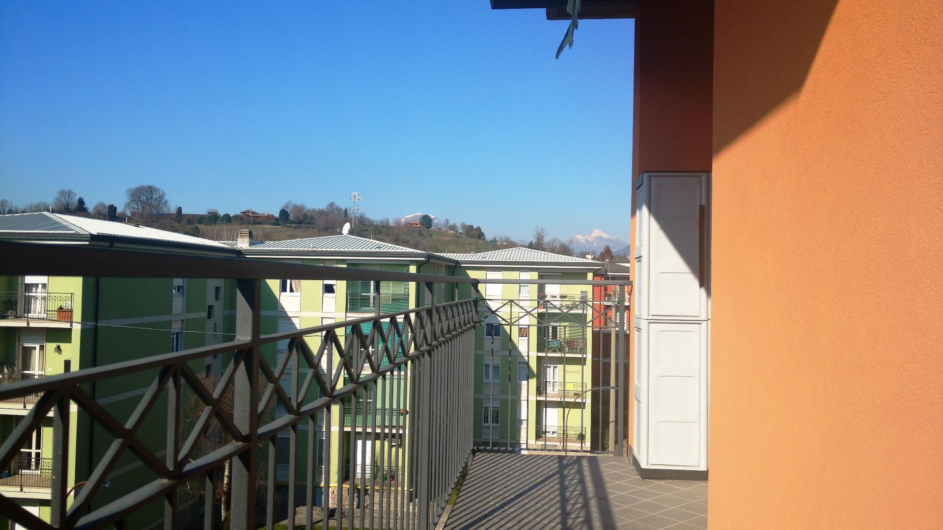 Bergamo Via Biava – trilocale in palazzina ristrutturata