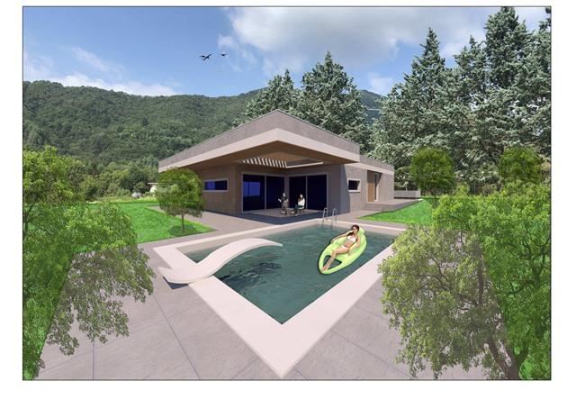 Cenate Sopra – Villa singola immersa nel verde