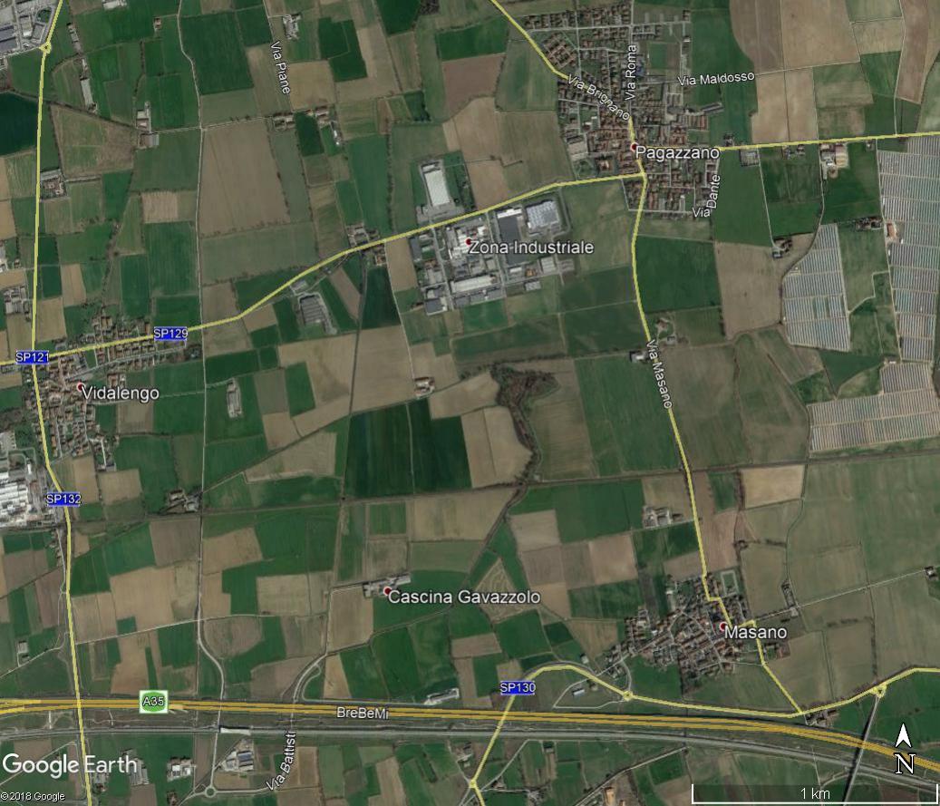 Morengo – Area edificabile industriale