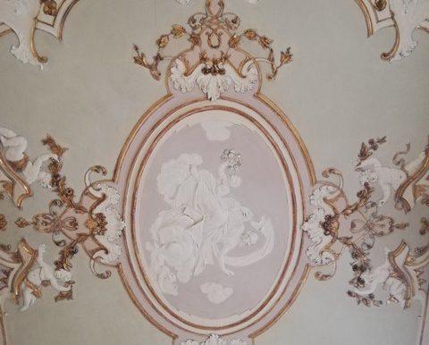 Sala Stucco '700 Soffitto
