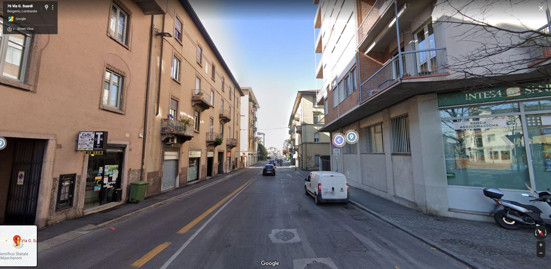 Bergamo Via Suardi Negozio